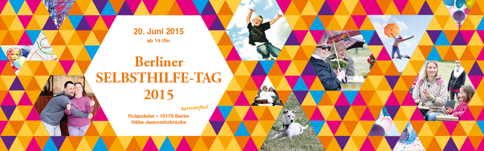 Banner-Poster zum SELBSTHILFE-TAG